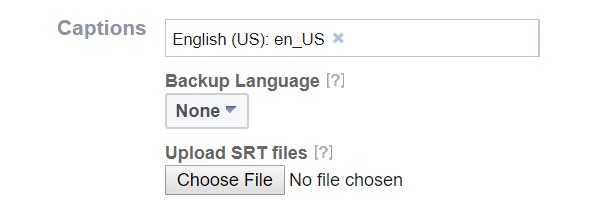 Click under Backup Language and choose a language, then click Save